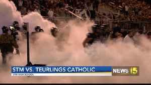 STM Dominates Teurlings Catholic 38-13 [Video]