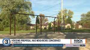 Affordable housing proposal in Janesville has neighbors concerned about its location [Video]