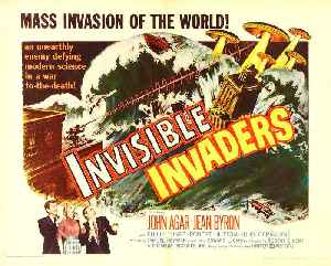 Invisible Invaders Movie (1959) [Video]