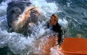 Jaws Movie (1975) Roy Scheider, Robert Shaw, Richard Dreyfuss [Video]