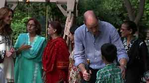 Duke and Duchess of Cambridge Visit Orphanage in Pakistan [Video]