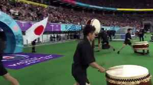 Japan and South Africa walk out to incredible noise [Video]