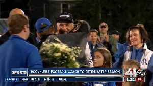 Rockhurst football coach to retire after season [Video]