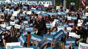 AOC endorses Bernie Sanders at NYC rally [Video]