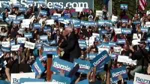 'I am back!': Bernie Sanders tells crowd after heart attack [Video]