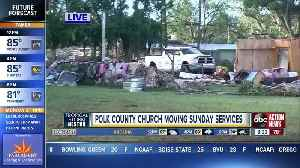 Clean-up begins: EF-2 tornado with 120 mph winds confirmed in Polk County, severe damage left behind [Video]