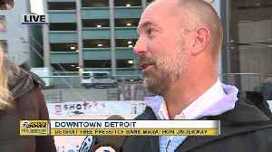 First Detroit Free Press/TCF Bank Half-Marathon runner crosses the finish line [Video]