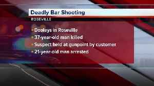 Man arrested in deadly shooting at Roseville bar [Video]