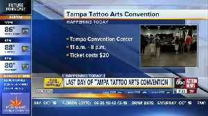 Tampa Tattoo Arts Convention continues today downtown [Video]