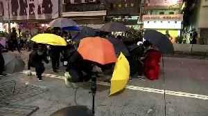 Hong Kong police detonate bomb [Video]