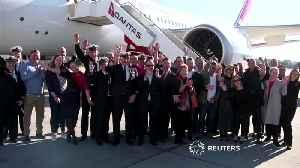 News video: Qantas tests world's longest commercial flight
