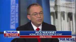 Chris Wallace Grills Mick Mulvaney [Video]
