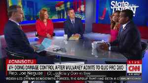 News video: Sean Duffy faces accusations first day on CNN