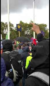 The moment the People's March crowd find out the Letwin Amendment was passed [Video]