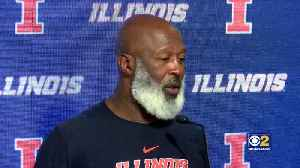 Illinois' Lovie Smith Calls Upset Over Wisconsin 'Our Signature Win' [Video]