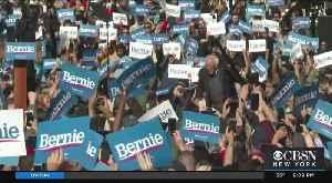 Bernie Sanders Holds Packed Rally In Queens [Video]