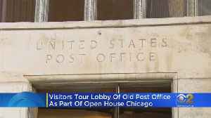 Public Gets Glimpse Of Main Chicago Post Office Set To Reopen Monday [Video]