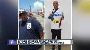 Metro Detroit man to run first marathon after losing 475 pounds [Video]