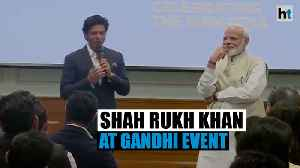 'Gandhi ji 2.0 is what we need': Shah Rukh Khan at PM Modi's event [Video]