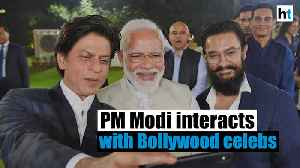 PM Modi asks SRK, Aamir, other Bollywood celebs to spread Bapu's message [Video]