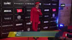 Ranveer Singh, Katrina Kaif dazzle at 'Vogue Women Of The Year Awards 2019 [Video]