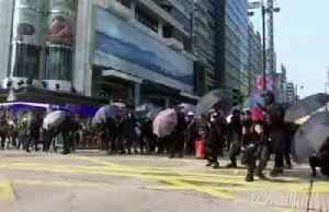 Tens of thousands protest in illegal Hong Kong march [Video]