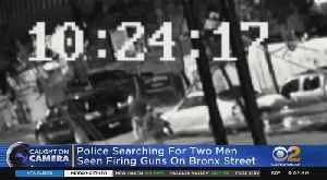 Police Searching For Two Men Seen Firing Guns On Bronx Street [Video]