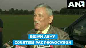 News video: 6-10 Pakistani soldiers killed, 3 terror camps destroyed: Gen Bipin Rawat