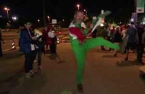 Welsh delight, French despair after quarter final [Video]
