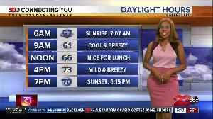 News video: Sunday morning forecast 10/20/19