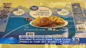 Sausages Sold At Walmart Recalled Over Salmonella Concerns [Video]