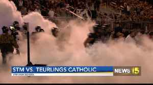 STM Dominates Teurlings Catholic 38-13 [Video]