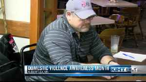 Poker tournament held to stop domestic violence [Video]