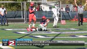 Scores 10-19-19: Morrisville St. and Clinton football win [Video]