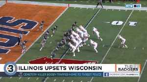 Illinois upsets Wisconsin [Video]