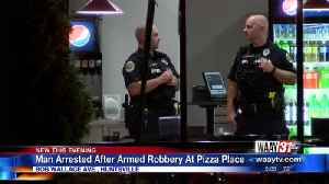 ONE PERSON ARRESTED AFTER ARMED ROBBERY AT MARCO'S PIZZA IN HUNTSVILLE [Video]