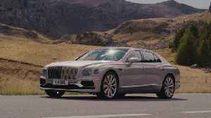 The new Bentley Flying Spur Extreme Silver Preview [Video]