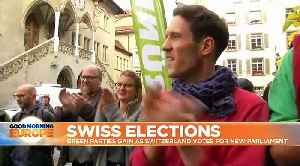 Swiss election: Greens gain while far-right loses ground - projection [Video]