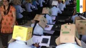 India school blasted for making students wear boxes over heads [Video]