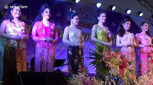 Thai transgender women hold beauty pageant to mark end of Buddhist lent [Video]