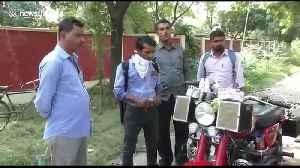 80-year-old Indian man builds amazing 'Alexa' bike packed with gadgets [Video]