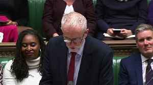 Corbyn comments on PM's absence from Commons [Video]