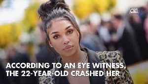 News video: Lori Harvey Arrested For Hit & Run After Allegedly Fleeing The Scene Of A Serious Car Crash In Beverly Hills
