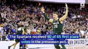 Michigan State Tops AP Preseason Men's Basketball Poll for First Time [Video]