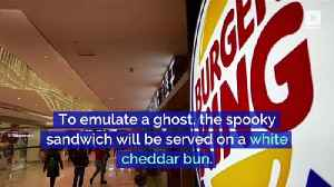 Burger King to Sell 'Ghost Whopper' for Halloween [Video]