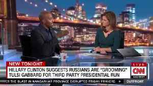 "Van Jones: Hillary Clinton smeared Tulsi Gabbard ""with no facts"" for backing Bernie in 2016 [Video]"