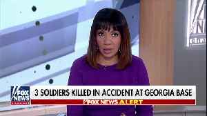 Three Soldiers Killed in Accident At Georgia Base [Video]