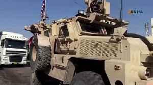 """Go, go!"", Syrians pelt U.S. vehicles with potatoes [Video]"