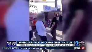 Prosecutors ask court to move juvenile case of deadly assault at Frederick Fair [Video]