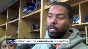 Lions reeling after loss to Vikings [Video]
